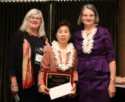 "Congratulations!! Dr. Young-Shin Lee received the ""Geriatric Nursing Education Award"""